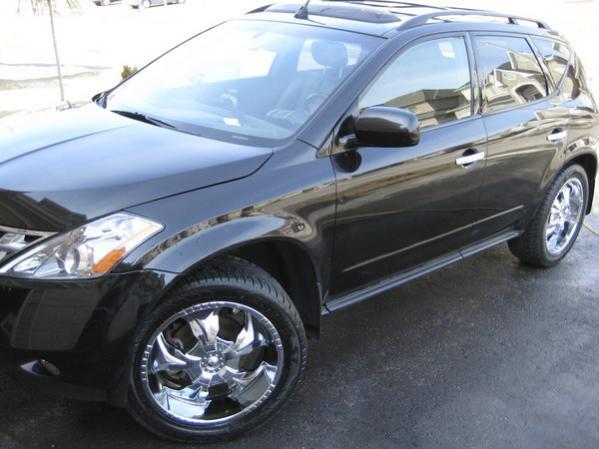 2007 Nissan murano tire specs