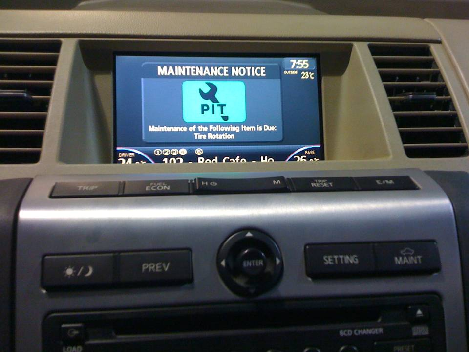Oem Navigation Added To My 2006 Murano Nissan Murano Forum