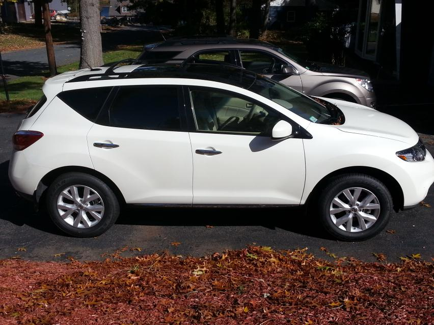 New 2012 Sl Awd In Pearl White Nissan Murano Forum