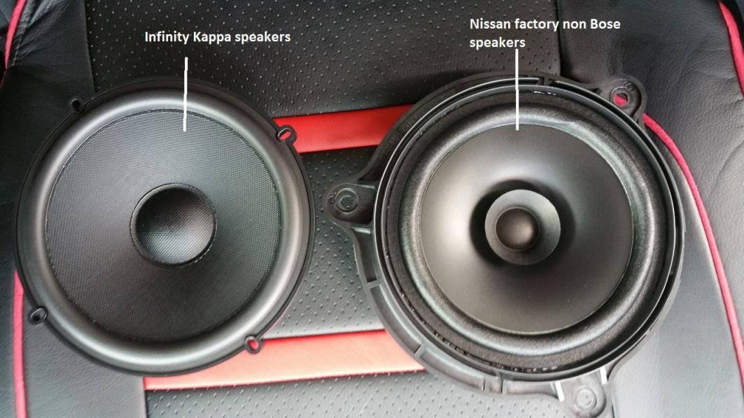 Speaker Sizes Nissan Murano Forum