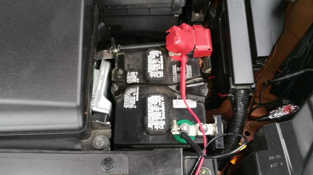 Optima Yellowtop Battery Install On 2015 Nissan Murano