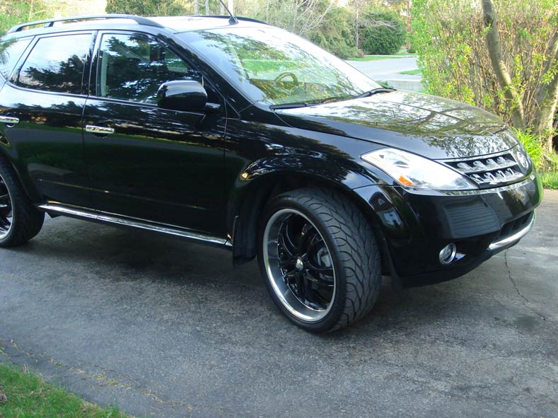 Is 22x9 5 Wheel Too Wide For My 2007 Awd Murano Nissan