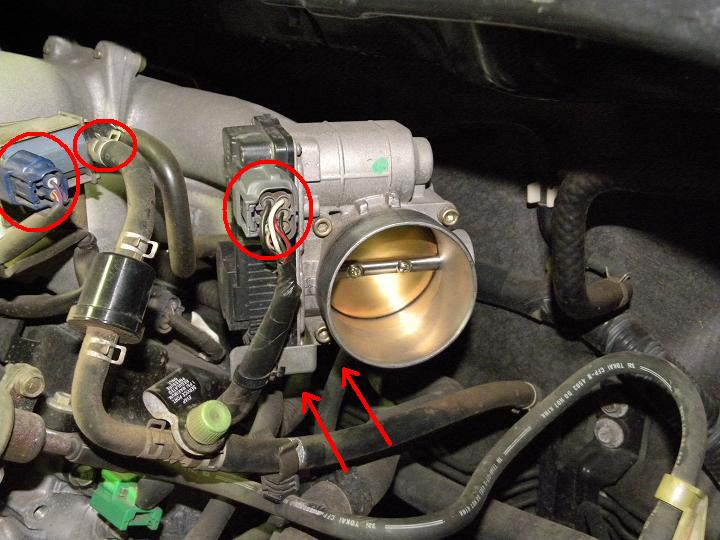 How To Throttle Body Spark Plugs Firewall Valve Cover
