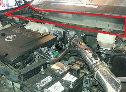 How To High Pressure Power Steering Hose Nissan Murano Forum