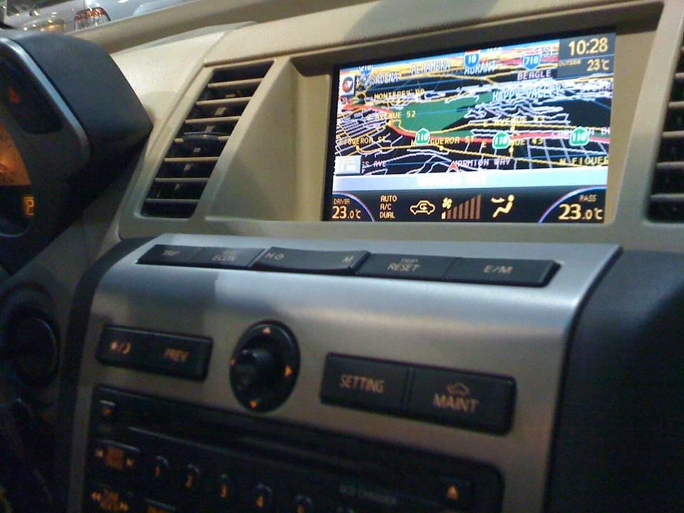 Oem Navigation Added To My 2006 Murano Nissan Forumrhnissanmuranoorg: 2006 Nissan Murano Radio At Gmaili.net