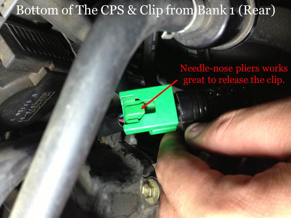 How To Replace The Camshaft Position Sensor Bank 1 Rear