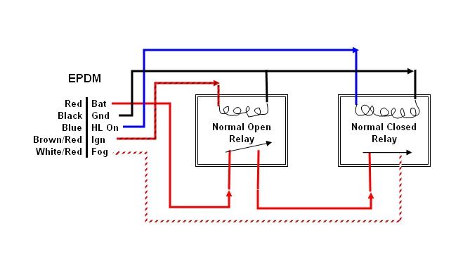 independent fogs nissan murano forum rh nissanmurano org Starter Relay Wiring Diagram Fog Light Wiring Schematic