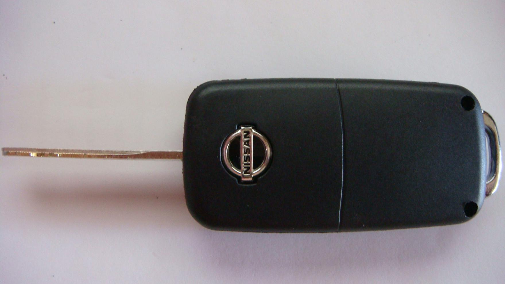 2007 nissan murano key removal