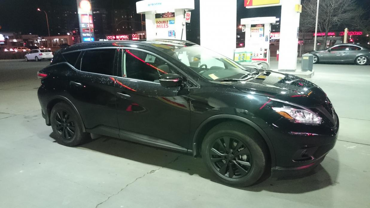 Blacked out 2015 Murano - Nissan Murano Forum