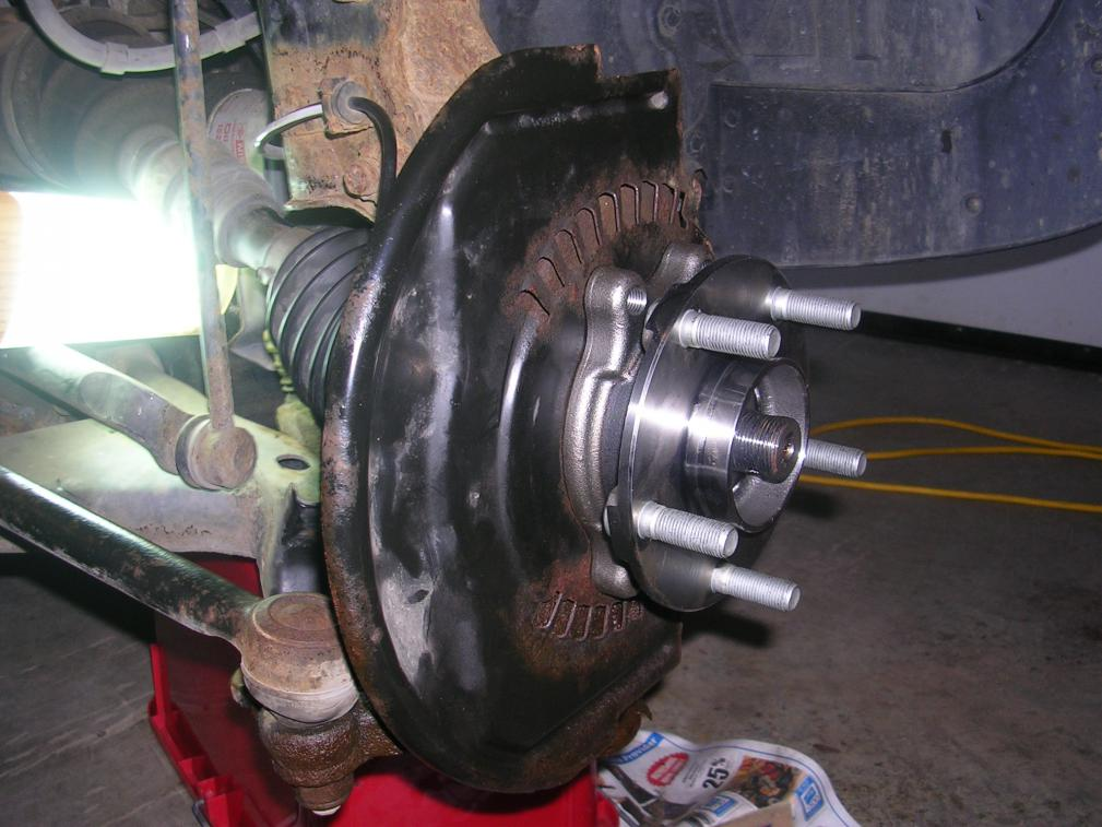 1st Gen Murano Wheel Bearing Replacement Step By Step
