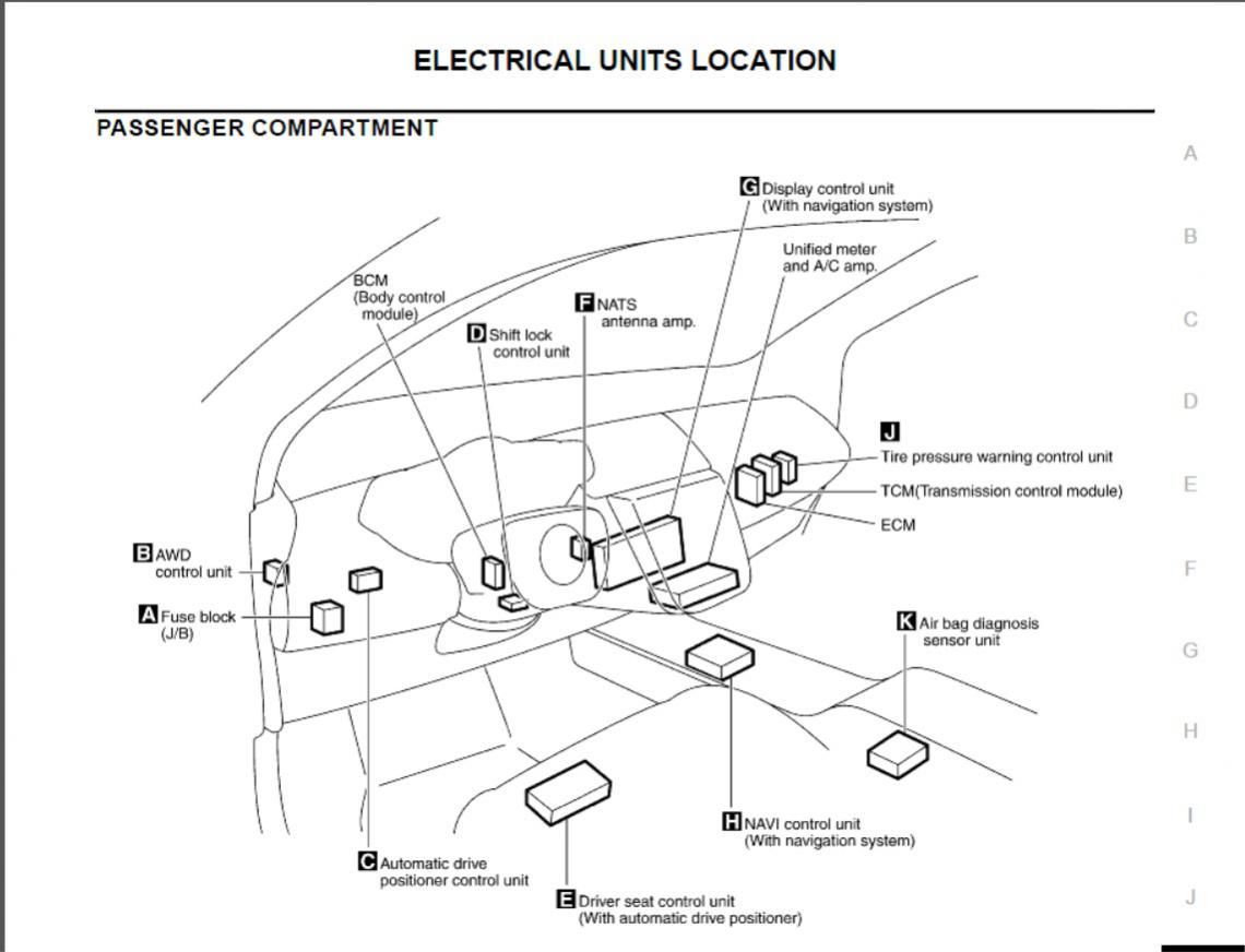 09 murano fuse box location engine   34 wiring diagram