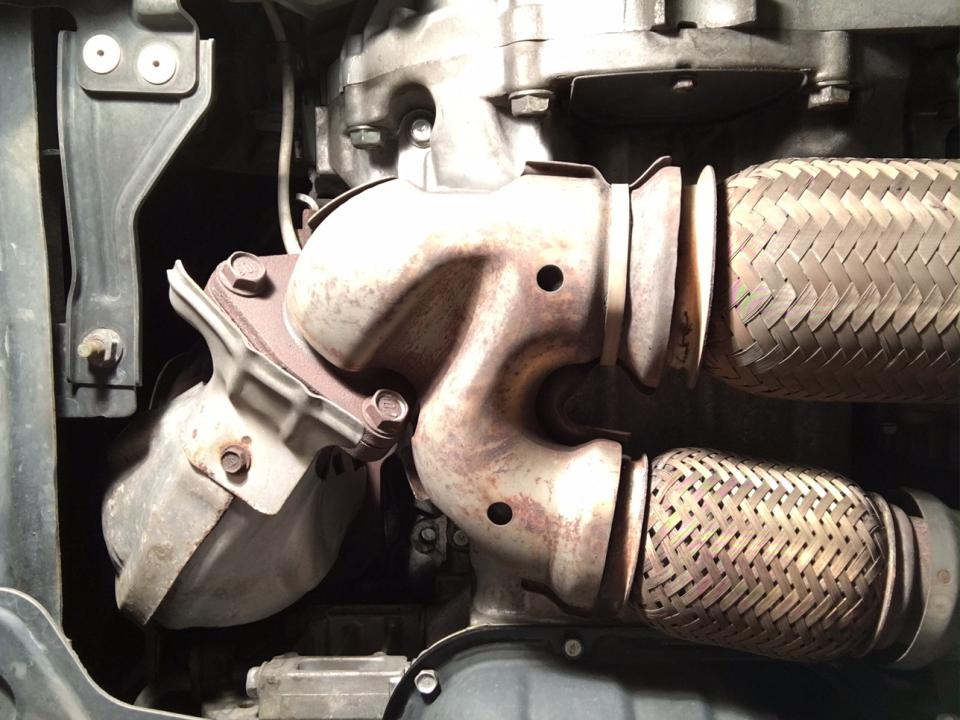 Click Image For Larger Version Name Front2bolts Views 322 Size 941: Catalytic Converter Nissan Murano 2009 At Woreks.co