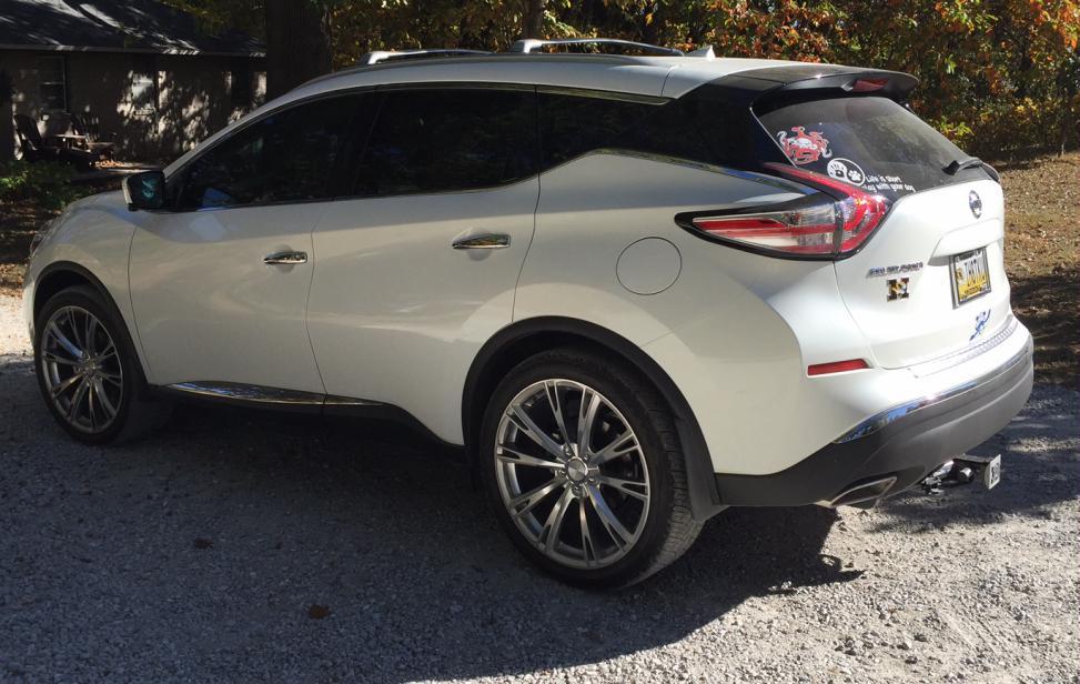 Aftermarket wheels - Nissan Murano Forum