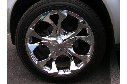 New Rims and Tires, sort of - Nissan Murano Forum