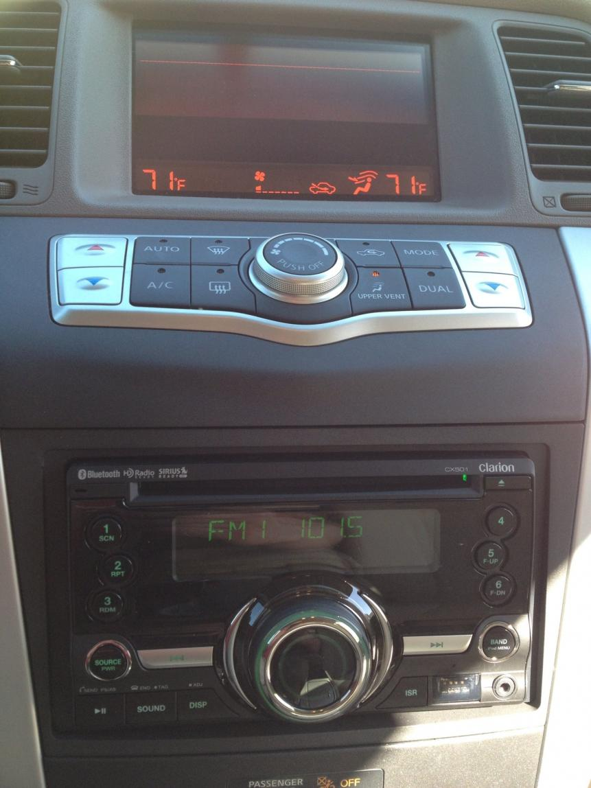 2010 Nissan Murano Oem Satellite Radio Wiring Diagram Free Download Xm Aftermarket Stereo In 2009 S Model Forum 2001 Sentra At
