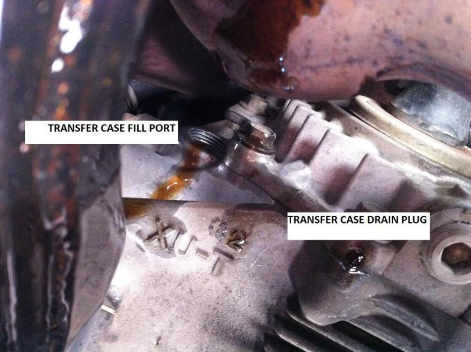 Transfer Case And Rear Differential Fluid Page 3