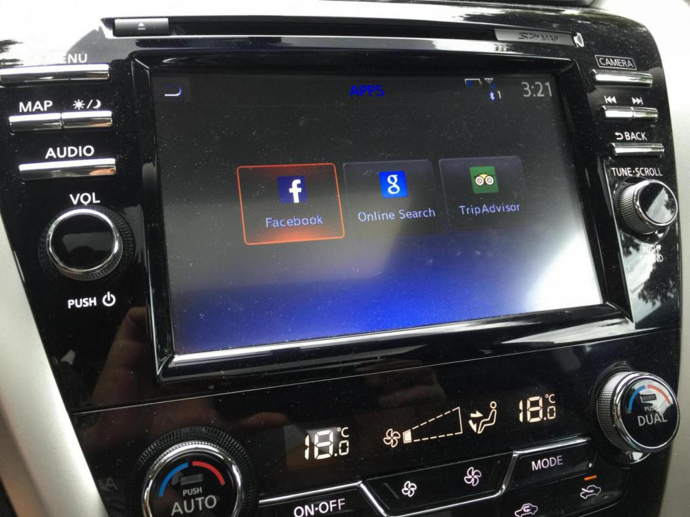 new apps just showed up in nissan connect nissan murano. Black Bedroom Furniture Sets. Home Design Ideas