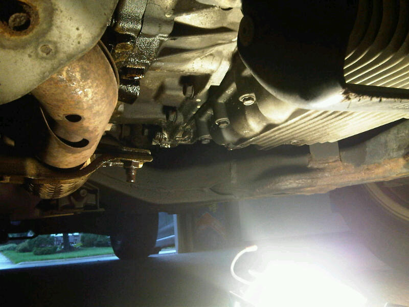 Oil leak? CVT? Transfer case? - Nissan Murano Forum