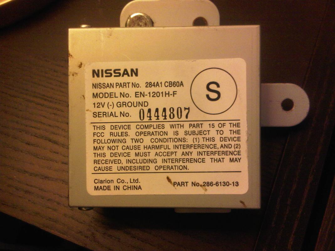 Camera Module Wiring Diagram Nissan Rogue Trusted 2011 Oem Backup Control Unit Murano Forum