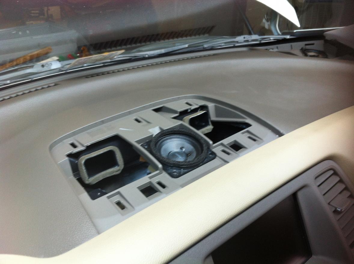 Dash Speaker Replacement Nissan Murano Forum