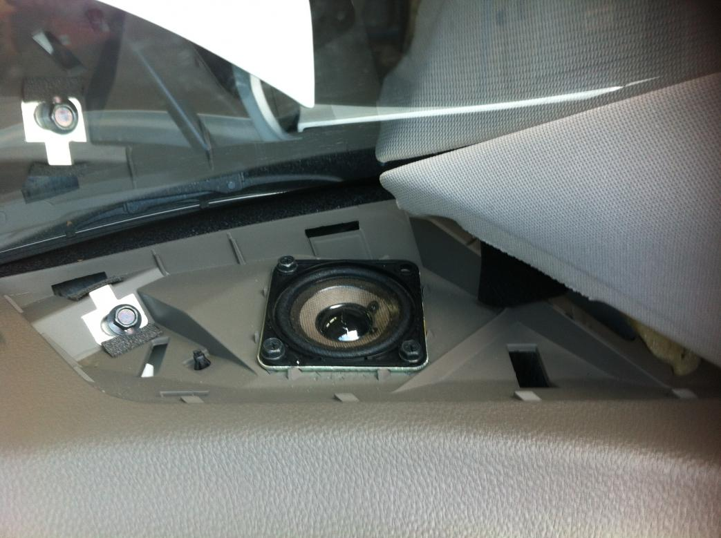 2007 Nissan Altima Sl >> Nissan Murano Forum - Dash speaker replacement