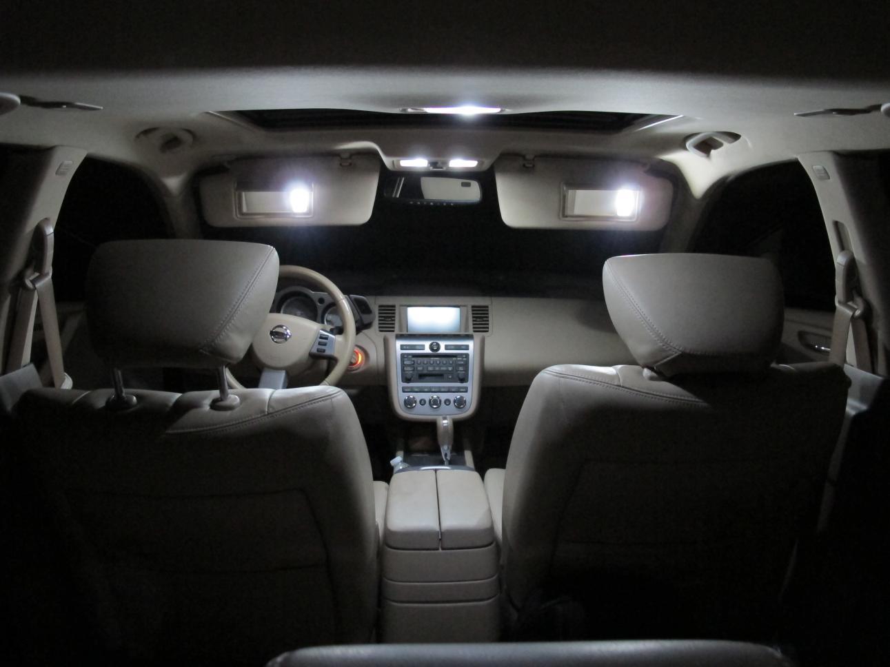Interior Lights Swap Nissan Murano Forum