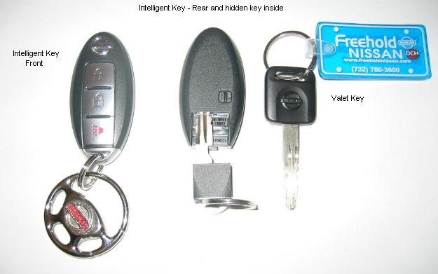 The valet key is not the same as an intelligent key. Attached Thumbnails