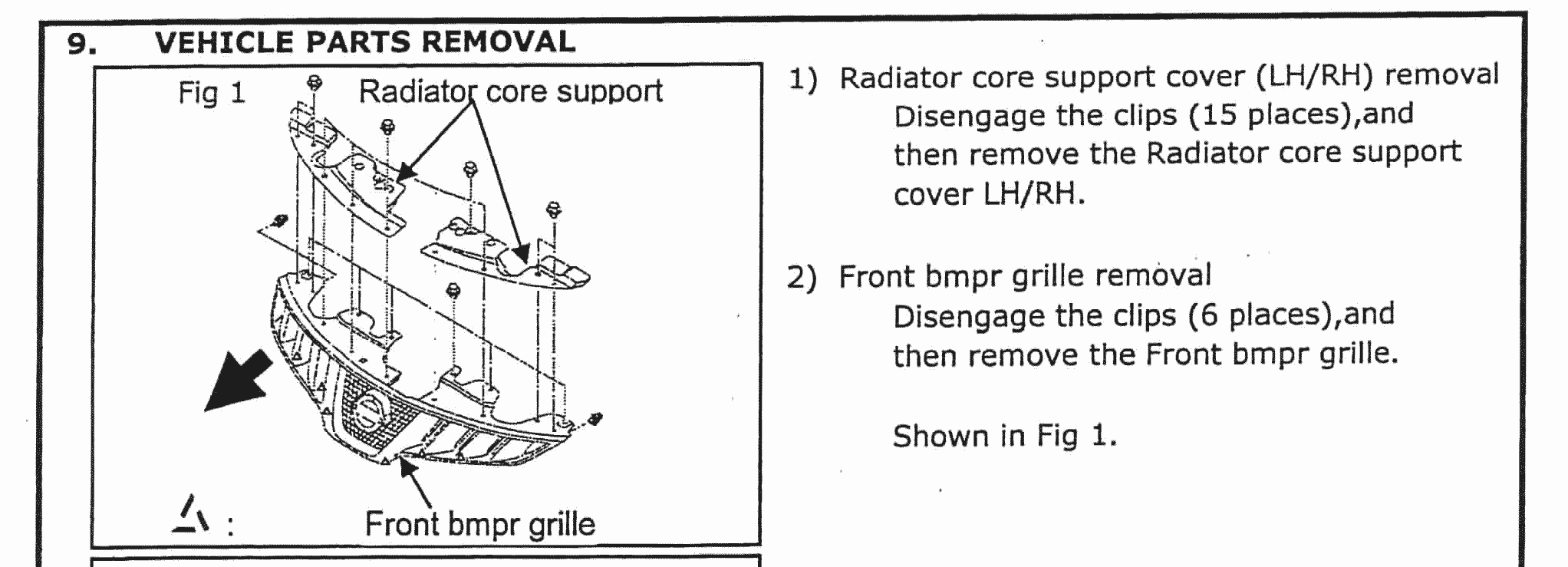 Grill removal problem 2nd gen nissan murano forum click image for larger version name leddrlinstructions 4g views 1356 size vanachro Choice Image