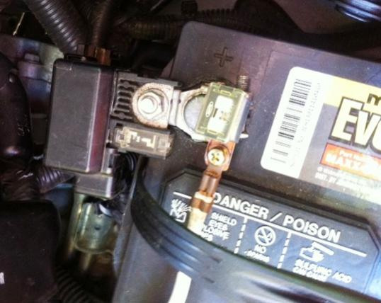 2006 Murano Battery Wires Burned Please Help Nissan