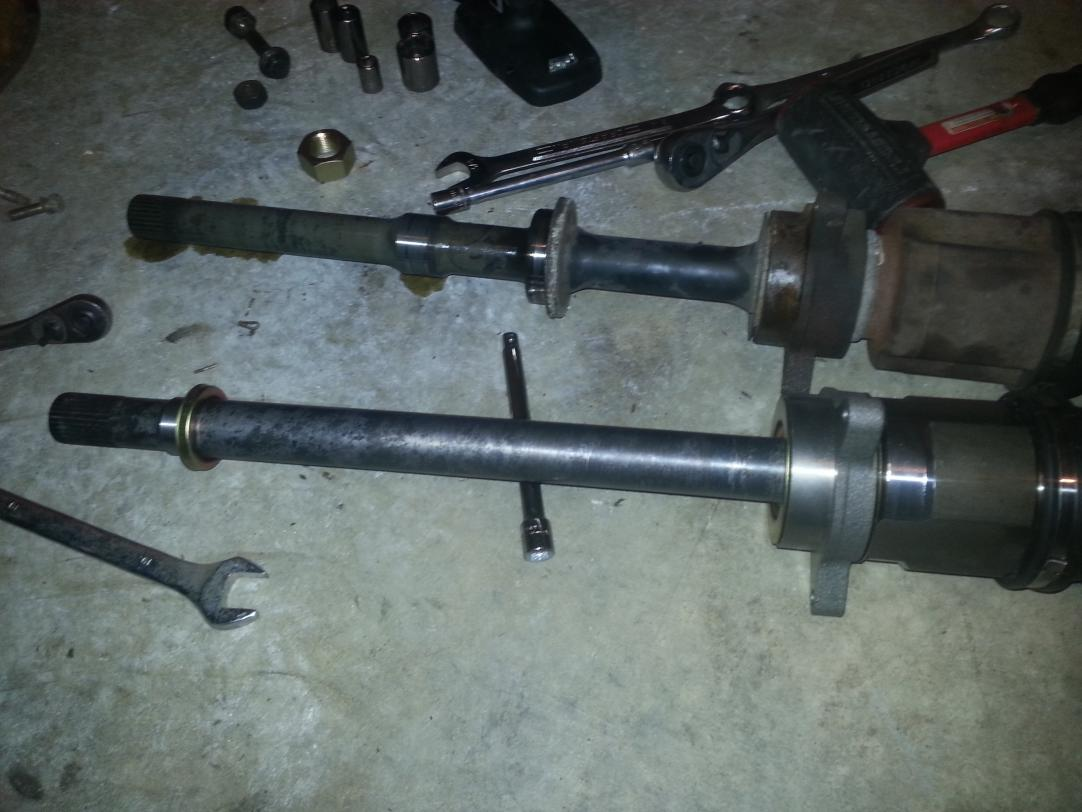 Cv axle replacement with pictures page 2 nissan murano forum click image for larger version name murano axlesg views 11239 size sciox Image collections