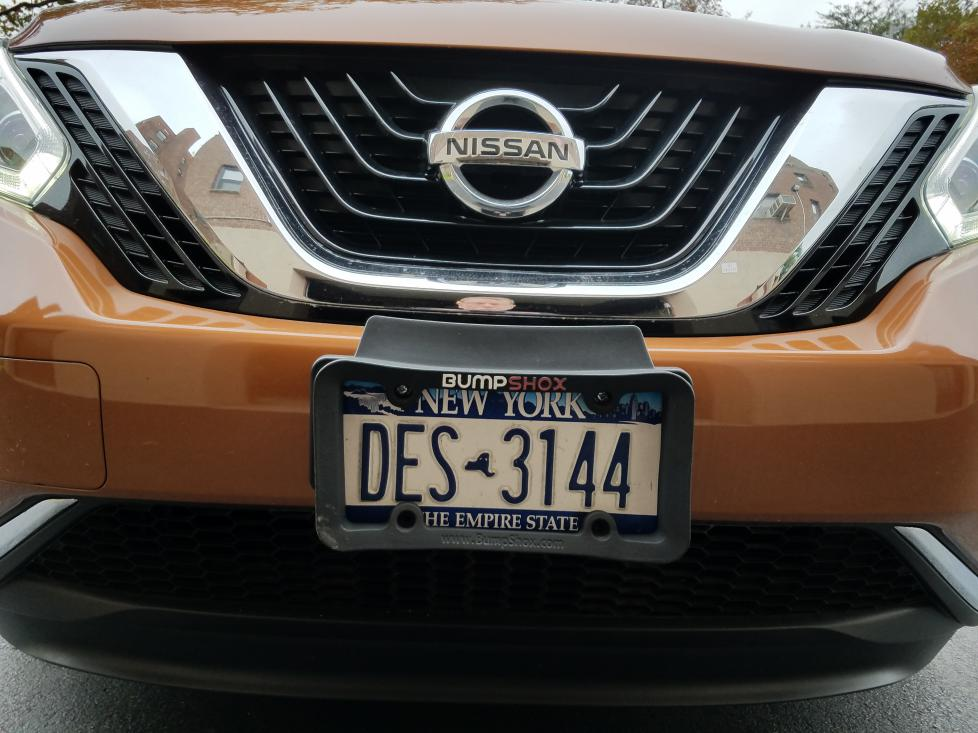 Front License Plate Bracket Nissan Murano Forum