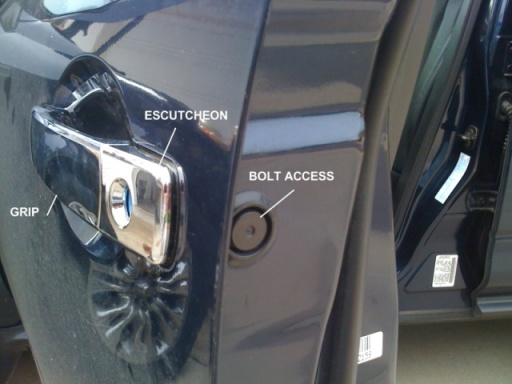 Broken Door Handle - Nissan Murano Forum
