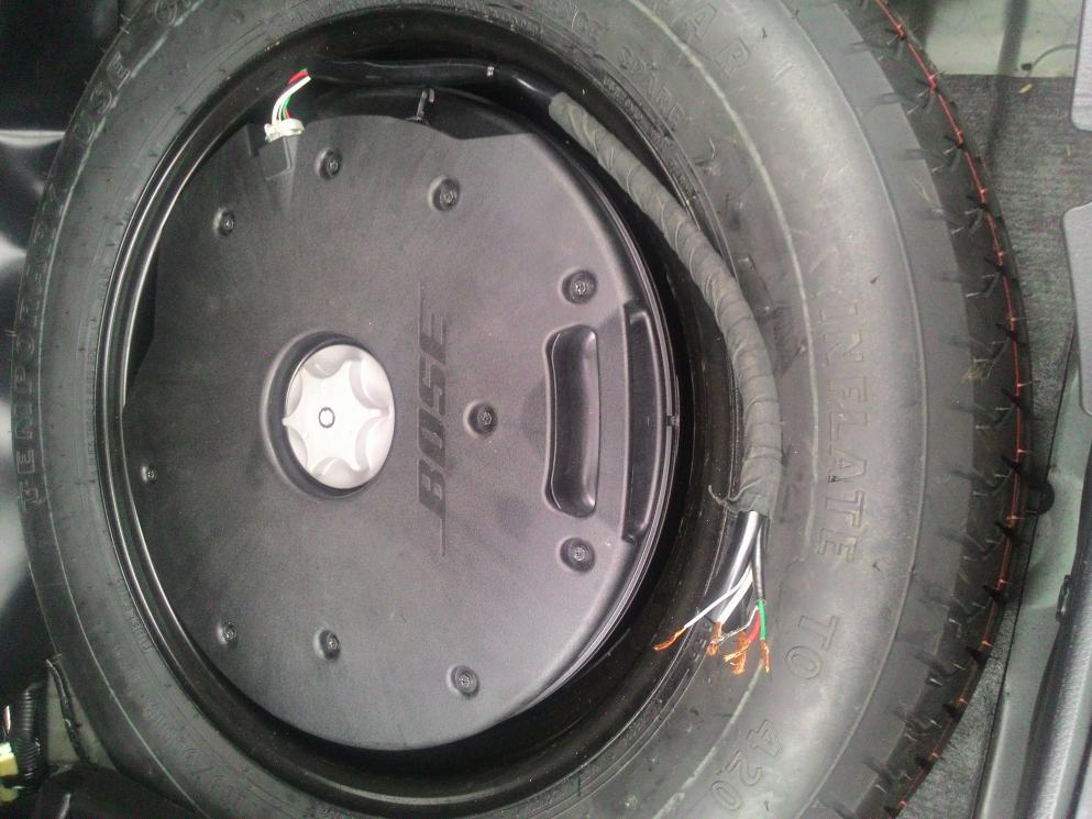 2013 Bose Subwoofer Wiring
