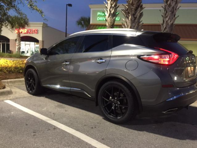 "Nissan Rogue 2007 >> 20"" aftermarket wheels on My 2016 Murano - Nissan Murano Forum"