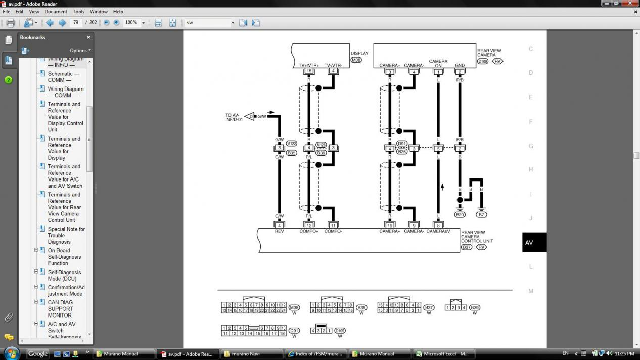 2014 nissan altima s wiring diagram oem backup camera   camera control unit nissan murano forum  oem backup camera   camera control unit