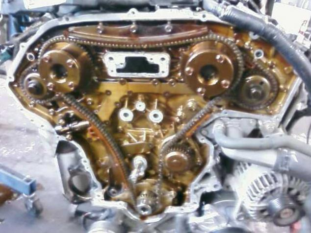 Timing Chain 2003 Nissan Murano on 1973 super beetle wiring diagram