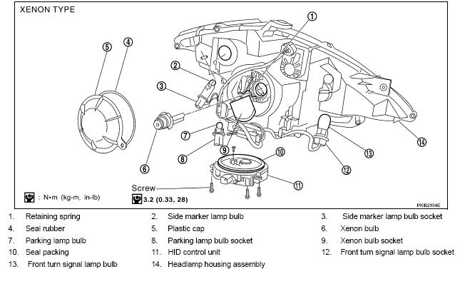 12932d1154368467 hid headlight part number needed xenon hid headlight part number needed nissan murano forum 2005 nissan 350z headlight wiring diagram at cita.asia