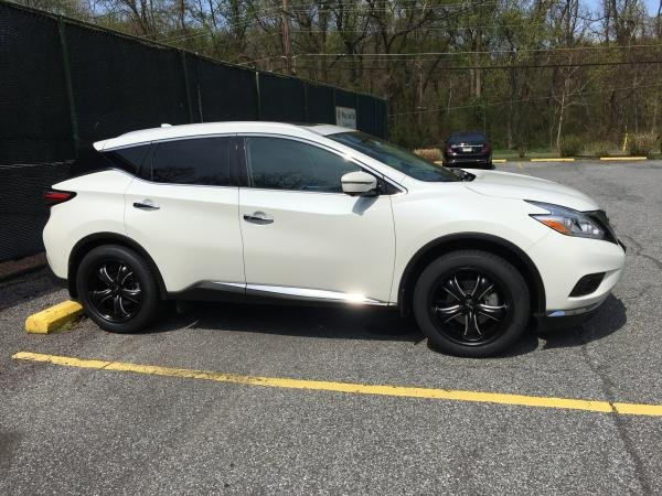 Indefatigable's 2017 Nissan Murano AWD SL