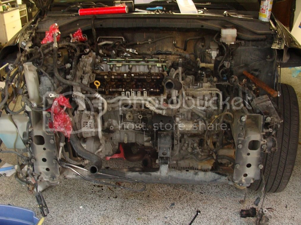 05 Murano project: engine swap   Nissan Murano Forum