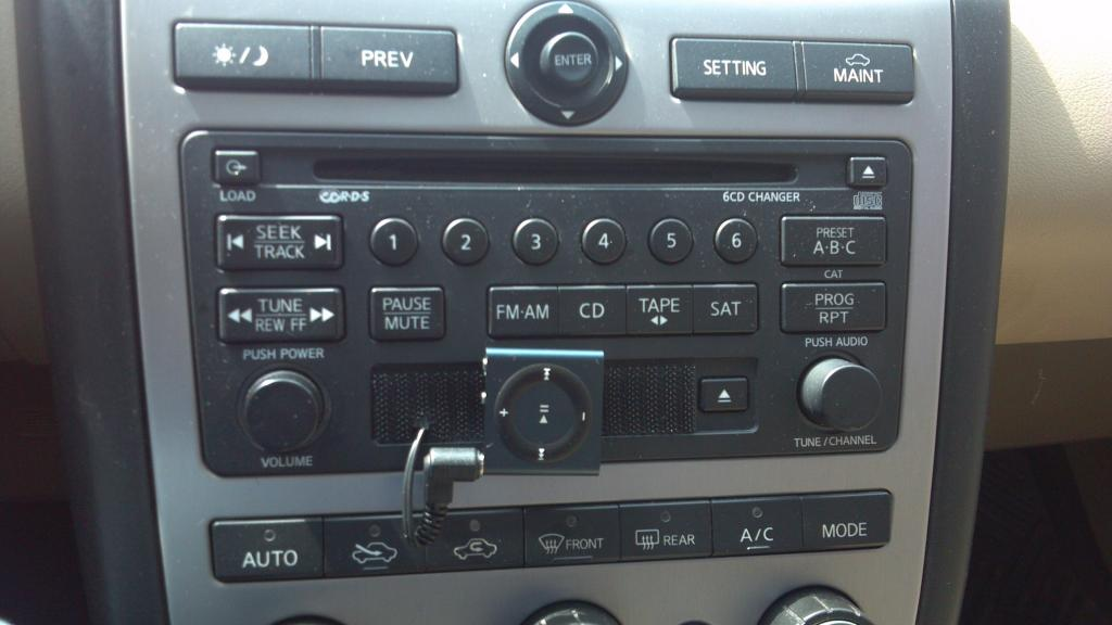 Just Installed MP Adapter In Murano Nissan Murano Forum - 2004 acura tl aux input